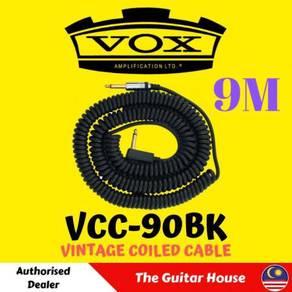 Vox VCC-90BK Vintage Coiled Cable, 9M