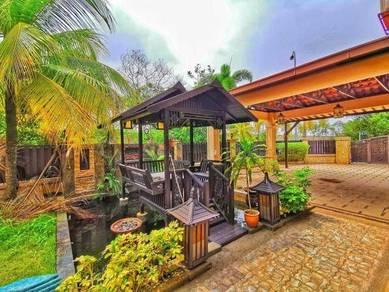 6400sqft aman pendana bungalow corner fully renovated super value buy