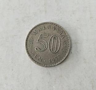 50 Sen 1977 Malaysia