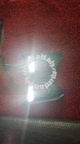 Honda jazz fog lamp cover with drl led daylight