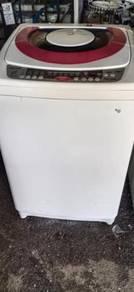 Mesin basuh Auto jenama toshiba 9.0 kg