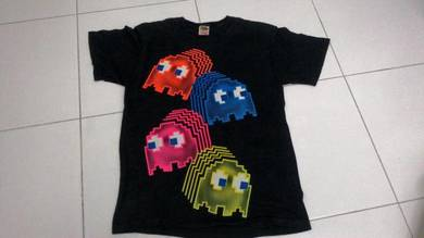 Pac man ghost roundneck nat 9779