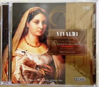 Classic Music CD Vivaldi The Four Seasons Violin