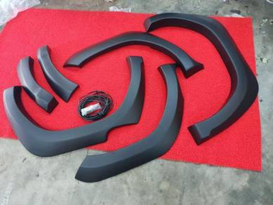 Toyota hilux revo rocco trd fender arch flare pp