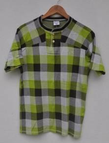 Columbia Checked Green Shirt