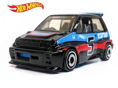 Hotwheels 85 Honda City turbo II (black)