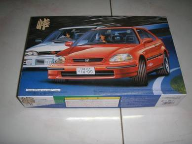 1/24 honda civic ek4 SiR II ek9 2 door car kit