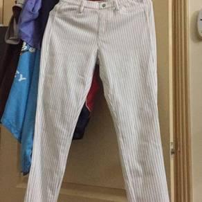 Branded long pants