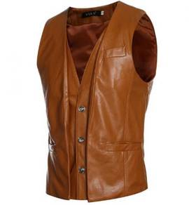 6410 Design Men's Casual Slim Fit Vest Waistcoat
