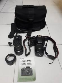 Canon eos 1000d for sale nego sampai jadi