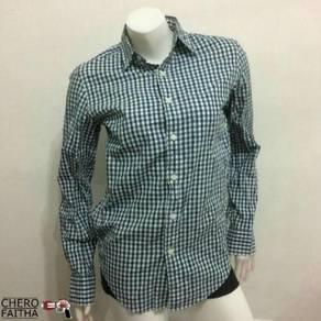 J.Crew checkered button down slimfit dress shirt