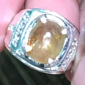 Cincin yellow sapphire kod 08