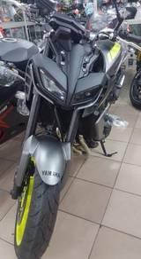 Yamaha MT-09 mt09 newdesign yellow