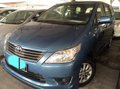 Used Toyota Innova for sale