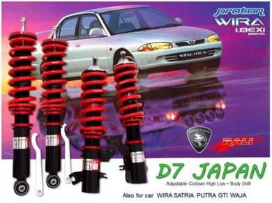 Wira Waja D7 JAPAN Adjustable Hi Low +Body Shift