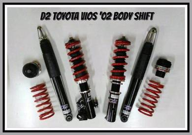 D2 adjustable hilow bodyshift for VIOS 2003-2013