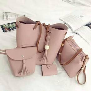 Handbag murah set 4 in 1 new design