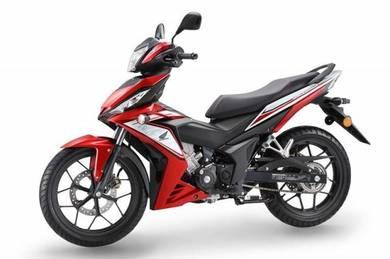 Honda rs150r promo