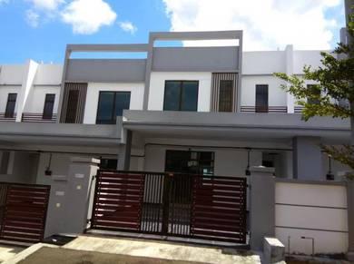 New House 2 sty terrace 22x70, KLUANG (jean)