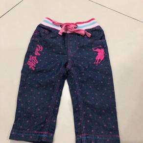 Apparel for baby girl 6-12 months polo & poney