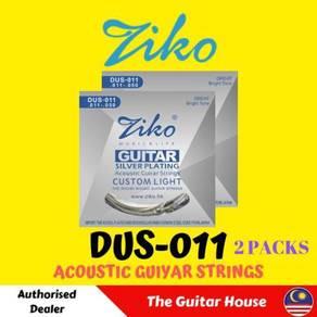 ZIKO (2 Packs) DUS-011 Acoustic guitar strings