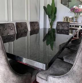 Dining Table Set Marble Granite