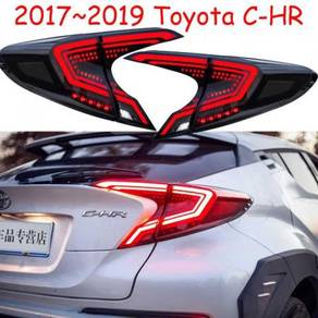 Toyota Chr 16-20 Led Tail Lamp Dark Black Color