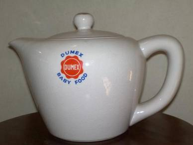Teko dumex antik antique dumex teapot tea pot
