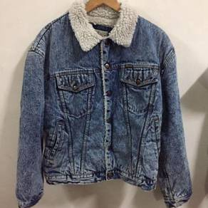 Wrangler Cowboy Jeans Jacket Size XL