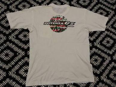 Vintage potenza t shirt size L