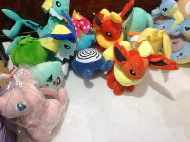 Plush toy pokemon blanket patung comel