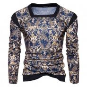 8447 Democratic Style Design Casual Sweater