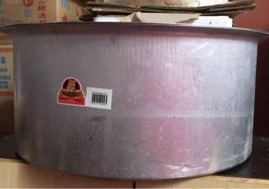 Aluminium indian / malay cooking curry soup pot
