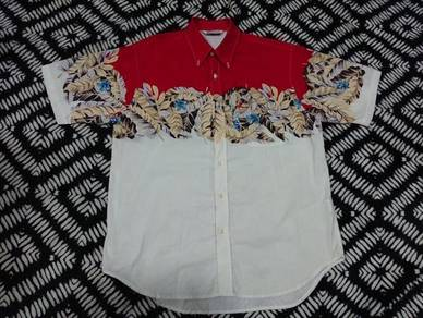 Vintage hawaii shirt floral design size M