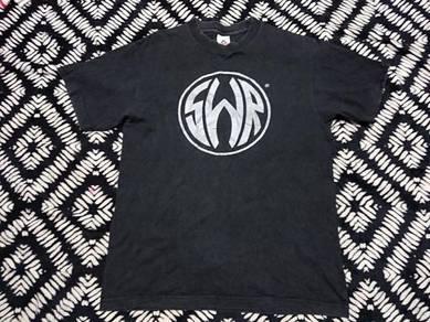 SWR bass amplifier logo t shirt size M