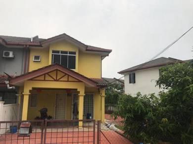 [Extra Land] 2sty Terrace House, Anggerik, Bukit Sentosa, Rawang