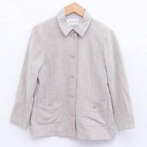 Size M CHARGE Casual Jacket in Beige Pit 19