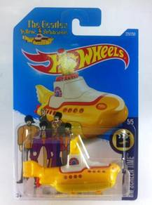 Hotwheels The Beatles Yellow Submarine # 5 Yellow