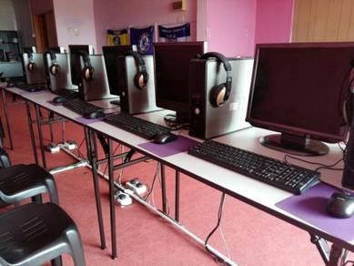 Pakej buka cybercafe bajet biasa gaming kdh