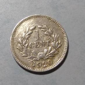 Sarawak Brooke Old Coins 1cent