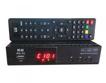 DVB-T2 digital TV decoder