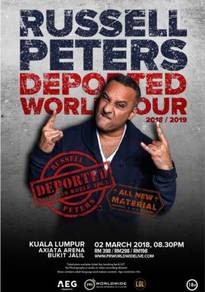 4 x Russell Peters live tickets
