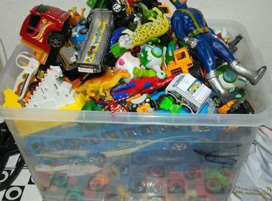 1 Box toys