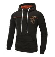 8829 Embroidered Casual Hoodies Sweater