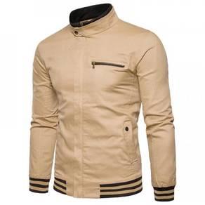 8887 Simple Zipper Pocket Jacket