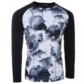 6499 Fit Splash Injet Printed Sweater T-Shirt