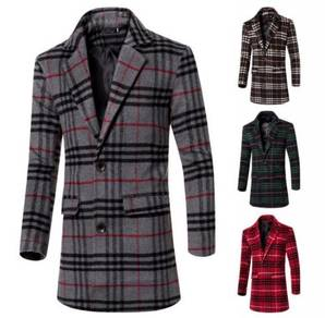 6360 Cultivating Long Section Woolen Jacket Coat