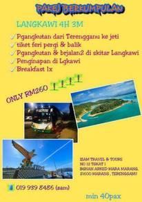 Travel Terengganu - Redang, Kapas, Langkawi & KL