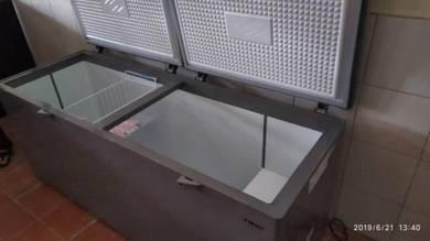 New trio freezer capacity 690Liter ogos