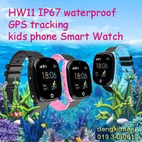 HW11 waterproof kids Anti Lost GPS Smart Watch
